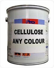 Cellulose Paint Gloss | Matt | Satin Matt most colours available + free strainer