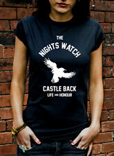 The Nights Watch Tshirt Castle Black Game Of Thrones Fire and Ice T Shirt J1086