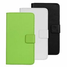 Color PU leather slot wallet stand flip Cover Skin Case for OnePlus One