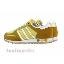 Women Shoes Adidas Originals La Trainer W D65503 Running Vintage Yellow Suede