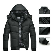2014 Men's Warm Hoodie Hoodey Coat Parka Winter Coat Outwear Down Jacket