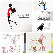 Removable Vinyl Kids Boy Girl Living Room Home Decor Mural Wall Stickers Decal