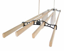 FOUR LATH Ceiling Pulley Clothes Airer Kitchen Maid®