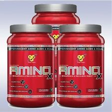 BSN AMINOX (3-PACK: 30 SVGS EACH) bcaa amino x acid recovery effervescent powder
