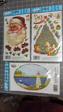 EZ RUB ON TRANSFERS: CHRISTMAS TREE;SANTA, LIGHTHOUSE $2.50 EACH