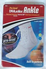 NEW Mueller Pro Level ATF Ankle Brace with Universal Fit 212 – white