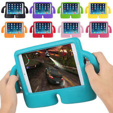 Kids Thick EVA Foam Shock Proof Soft Handle Stand Case Cover for iPad 2 3 4