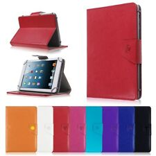 Universal Folio Leather Case Stand Cover for Verizon Ellipsis 7 Inch RCA Tablet