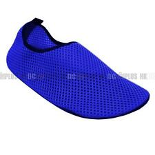 Aqua Water Sports Socks Skin Shoes For Beach Fitness Yoga Scuba Running Gym BLUE