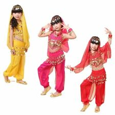 5-IN-1 KID's Belly Dance Costumes set Party Halloween Professional for Girl