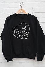 All I Care About Is Pizza and Luke Brooks Jumper Hoody Janoskians Hoodie J1142