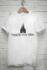 Happily ever after T shirt disney castle princess tumblr tshirt Z038