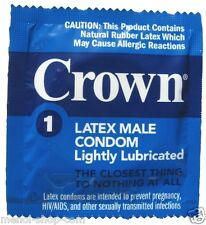 Crown Skinless Skin Ultra Thin Condoms (2-144 pack) *NEW Discreet Packaging*