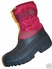 Ladies Water Proof Lined Snow Winter Boots All Sizes New