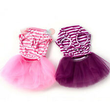 Small Dog Clothes Cute Pet Puppy Tutu Dress Lace Skirt Princess Dress Clothes