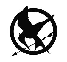 Hunger Games MOCKINGJAY vinyl decal sticker car truck mac - U Pick Color/Size