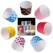 20 Pcs Paper Cake Cup Liners Baking Cup Muffin Kitchen Cupcake Cases Tray Party