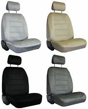 for 2004-2013 VOLKSWAGEN BEETLE 2 Quilted Velour Encore Solid Colors Seat Covers