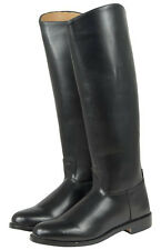 Black Leather Han Solo Style Equestrian FALCON RIDING BOOTS by Magnoli Clothiers