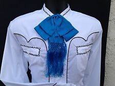 Mexican Charro and Mariachi TurquoiseAdult Bow Tie From Mx.Moño Charro/Mariachi