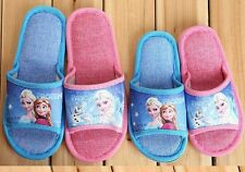 Disney Frozen Elsa Anna Princess Slippers Kid Youth Children 2 Style