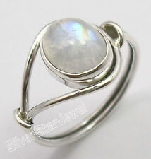 925 Sterling Silver RAINBOW MOONSTONE New Ring Any Size