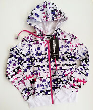 NEW Hoodie Buddie Heather Splatter on White HB3 Technology Headphones washable