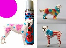 Pet Paint Dog Animal Safe Temporary Hairspray Hair Color Spray Can Halloween 5oz