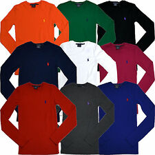 Polo Ralph Lauren Long Sleeve T-shirt Womens Slim Fit Perfect Tee Crew Neck Nwt