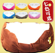 Candy Color Soft Indoor Pets Dog Cat Puppy Bed Warm Sofa Mat Nest Cushion 7Color
