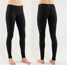 Wunder Under Pant Speed Tight Size 4/6/8/10/12 Black Luon Pants by fit Yoga