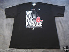 "Boston Red Sox 2013 World Series ""We Own The Parade"" Black NEW Shirt - ALL SIZES"