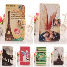 Cute Design PU Leather Case Cover Protection Skin For Wiko Fizz New