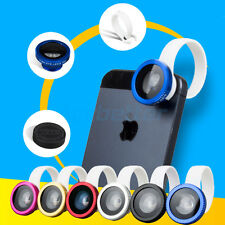 Universal Detachable 180° Fish Eye Circle Clip Lens for Smartphone Tablet Mobile