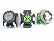 BEN 10 SELECTION OF 3 X DIFFERENT OMNITRIX WATCHES - SEE PHOTOS - VGC!