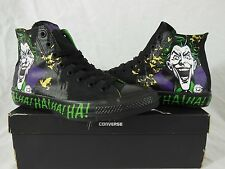 Converse Black/Green THE JOKER, THE CLOWN PRINCE OF CRIME DC comics sneakers
