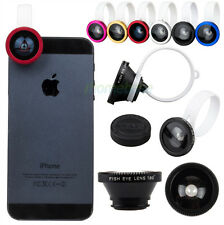 Universal Detachable Fish Eye 180° Lens Clip for Smartphones Mobile Tablet Phone
