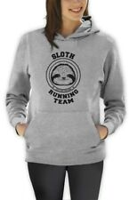 Sloth Running Team Women Hoodie Costume Lazy Sloth Ask Me Why Hipster Funny
