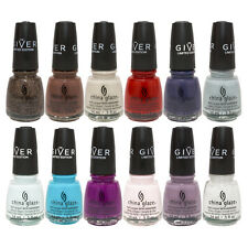 THE GIVER LIMITED EDITION China Glaze Nail Polish Lacquer Treatment .5 Oz 15 mL