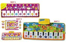 New Colorful Baby Kid Music Animals Piano Mat Touch Kick Play Fun Toy Gift UK