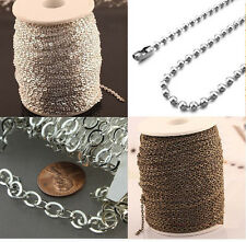 Add Length to Any Necklace Purchase from our Shop, Any Color Chain
