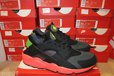 Nike Air Huarache Hyper Punch Anthracite Electric Green Sz 6-15 Yeezy Black Pink