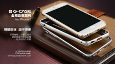 "G-CASE iPhone Air 6 4.7"" Ultra Thin Aluminum Bumper Case NEW ARRIVAL 3 COLORS"