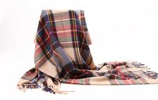 New Women Tassels Solid Warm Winter Plaid Pashmina Stole Long Scarf Shawl Wrap