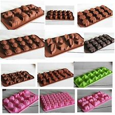 DIY Silicone Mould Mold Ice Cube Tray Chocolate Cake Cookie Muffin Make  Molds