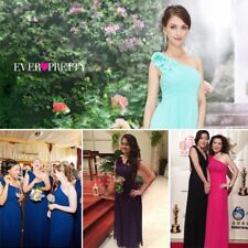 Ever Pretty One Shoulder New Designer Bridesmaid Homecoming Party Dress 08237