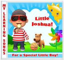 My First Learning Songs ♥ BOYS PERSONALISED GIFTS ♥ Birthday-Christmas-Easter