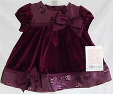 Bonnie Baby NEW sz 3 6 / 6 9 mo dress girl clothes Christmas party #2011-3S