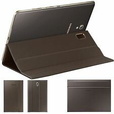 Titanium Bronze Case BOOK Cover For Samsung Galaxy Tab S 8.4 T700 T705 10.5 T800