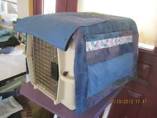 Custom Made Dog Vari Crate Covers You Pick Color Pattern Size Handmade Med